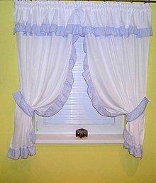 Úžitkový textil - Provence Sandra modrá - 11055322_