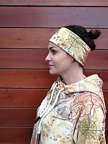 Ozdoby do vlasov - WALKERKA - termo čelenka - 11056731_