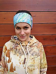 Ozdoby do vlasov - SURFERIS - termo čelenka - 11057112_