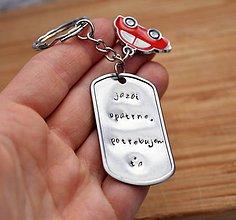 Kľúčenky - Kľúčenka pre šoférov / šoférky - 11054829_