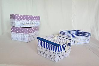 Košíky - Set mini košíkov - 11056370_