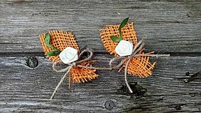 Pierka - Jesenné svadobné pierka - 11059108_