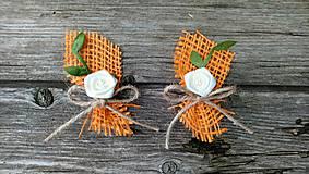 Pierka - Jesenné svadobné pierka - 11059114_