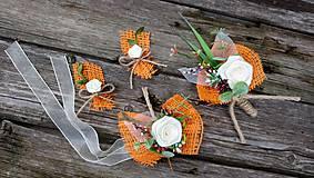 Pierka - Jesenné svadobné pierka - 11059116_