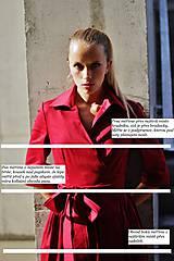 Šaty - Zavinovací šaty MONA, indigo modrá - 11060870_