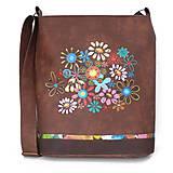 Veľké tašky - 1149 - květinkovaná - 11059152_