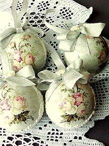 Dekorácie - Vianočné gule-vintage II - 11058111_