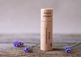 Drogéria - Balzam na pery Levanduľový sirup (10 ml) - 11060307_