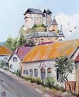 Obrazy - Výhľad na Oravský hrad - 11058682_