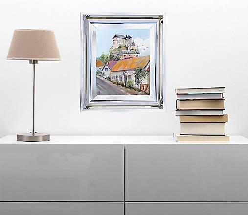 Výhľad na Oravský hrad