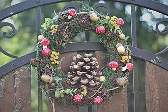 Dekorácie - Jesenný venček - 11060312_