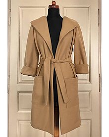 Kabáty - Flaušový kabát - 11060859_