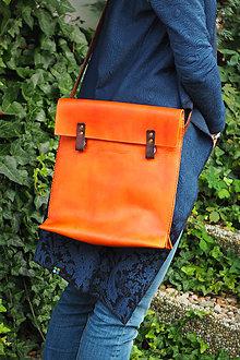 Veľké tašky - Velká MontMat kabelka-kolekce Slim-ryzák - 11058107_