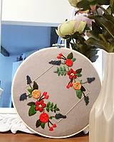 Dekorácie - Kvety v štvorci - 11058808_