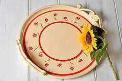 Nádoby - Kvetinkový podnos - 11060454_