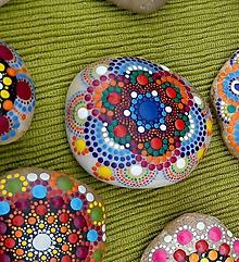 Drobnosti - FUNNY - Na kameni maľované - 11058485_