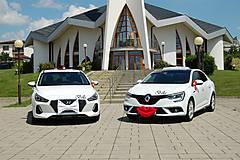 Iné doplnky - Výzdoba na svadobné auto PERY a MOTÝLIK - 11059333_