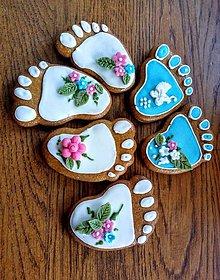Dekorácie - Medovníčky ku krstu - 11060781_