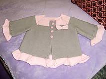 Detské oblečenie - Detské svetríky - 11060313_
