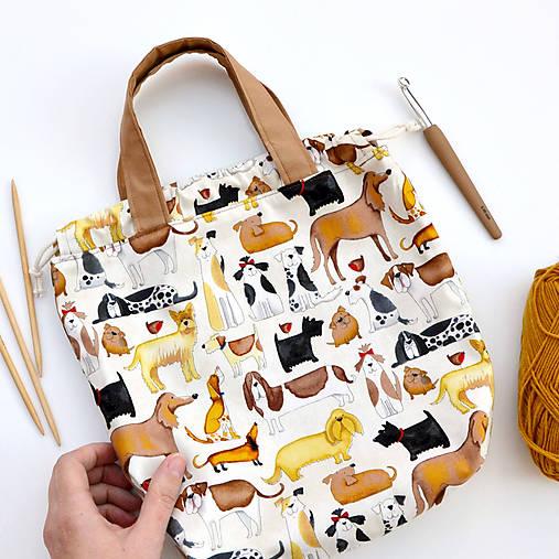 Taška so psíkmi ~ tvoritaška + nákupná