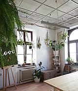 Dekorácie - Macrame držiak na kvetináč 180cm - 11060089_