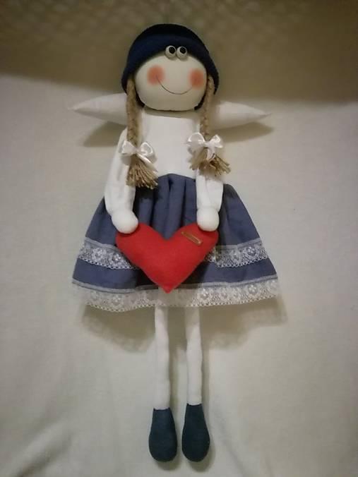 Veľký anjelik dievčatko na zavesenie