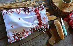 Úžitkový textil - Vrecko na pečivo / malý chlieb - 11059397_