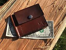 Tašky - Dolárovka/pánska peňaženka s klipom - 11060443_