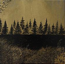 Obrazy - Zlatý les - 11058978_