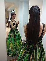 Šaty - Zelené šaty - 11060434_