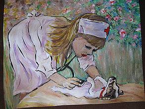 Obrazy - Sestrička - 11059110_