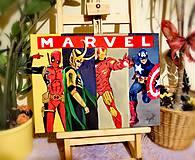 Obrazy - Marvel hrdinovia - 11060766_
