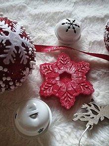 Svietidlá a sviečky - Snowflake  (vianočná fantázia) - 11060901_