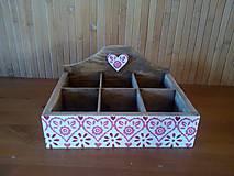 Krabičky - srdiečková na čaje - 11062007_