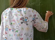 Detské oblečenie - Košieľka Popísaný zošit - 11065031_