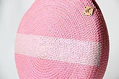 Kabelky - Kabelka kulatá růžová - 11063042_