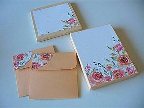 Krabičky - darčekový set na foto a CD - 11063057_