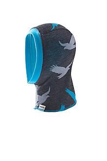 Detské čiapky - KUKLA 100% merino zimní OBOUSTRANNÁ dvojitá - 11062740_