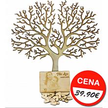 Dekorácie - Svadobný strom prianí - 11063901_