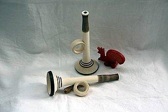 Hračky - Drevené hračky. Detská trumpeta - 11064479_