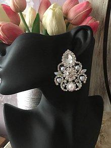 Náušnice - Wedding luxury - 11065177_
