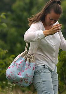 Veľké tašky - zaťahovacia taška sakura - 11064918_