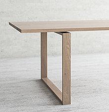 Nábytok - Arden - jedálenský dubový stôl - 11064448_