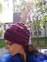 Čiapky - Merino čiapka. - 11065398_