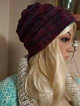 Čiapky - Merino čiapka. - 11065402_