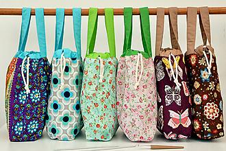 Iné tašky - TAŠKA VZOROVANÁ VLASTNÝ NÁVRH~ tvoritaška + nákupná - 11061666_