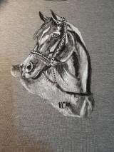 Tielka - Dámske tielko maľované  koník - 11065560_