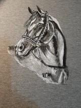 Tielka - Dámske tielko maľované  koník - 11065561_