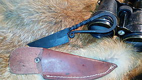 Stredoveký kovaný nôž
