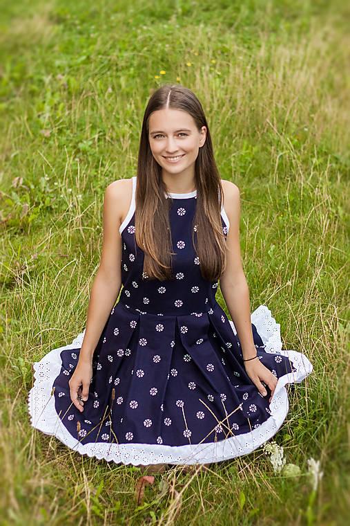 Šaty - Šaty - odhalený chrbát - 11064216_